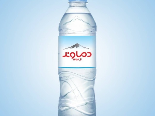 Damavand water label